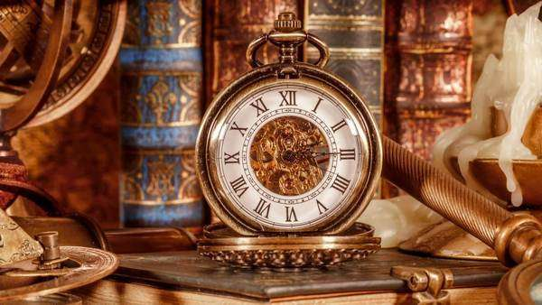 Vintage book compass telescope and a pocket watch lying on ancient vintage book compass telescope and a pocket watch lying on ancient world map in 1565 stock video footage dissolve gumiabroncs Image collections