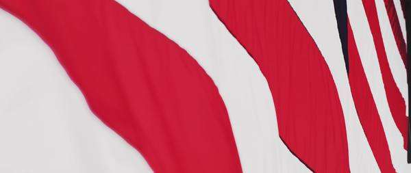 Close-up shot of a waving flag Royalty-free stock video