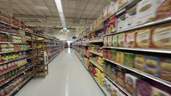 Grocery store Rights-managed stock video