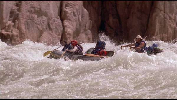 White water rafting Rights-managed stock video