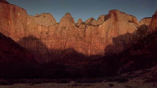 Timelapse of Zion Canyon in Utah. Originally sourced from 70mm film Rights-managed stock video