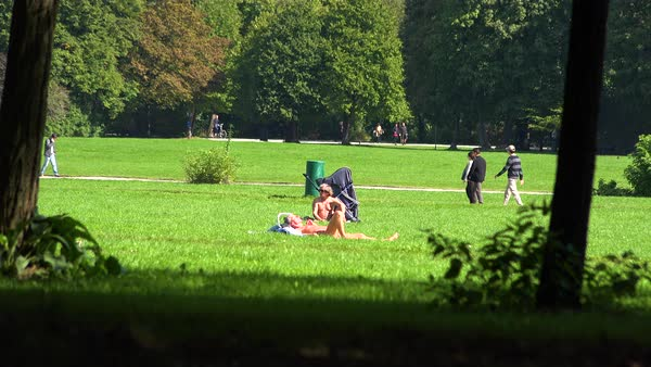 Nude park munich germany