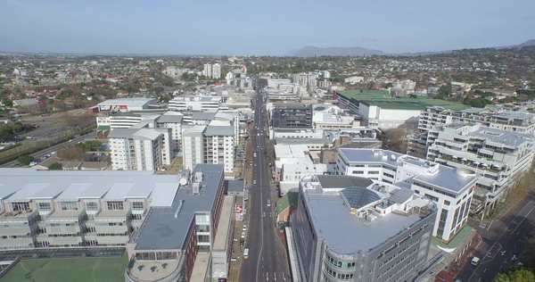 Aerial shot of a neighborhood in Cape Town, South Africa Royalty-free stock video