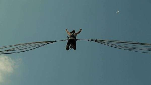 Bungee jump Royalty-free stock video