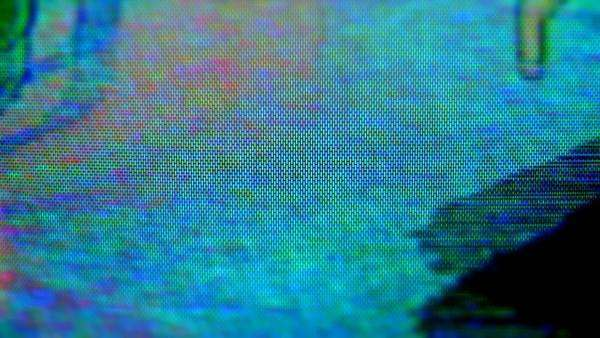 television and film static and electronic noise captured from an old television Royalty-free stock video