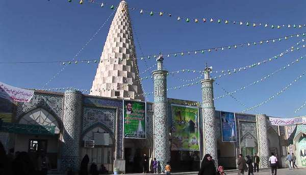 The Tomb of the Prophet Daniel in Susa, Iran. Royalty-free stock video