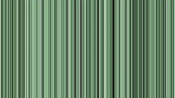 Looping animation of black, gray, white and green vertical lines oscillating. Royalty-free stock video