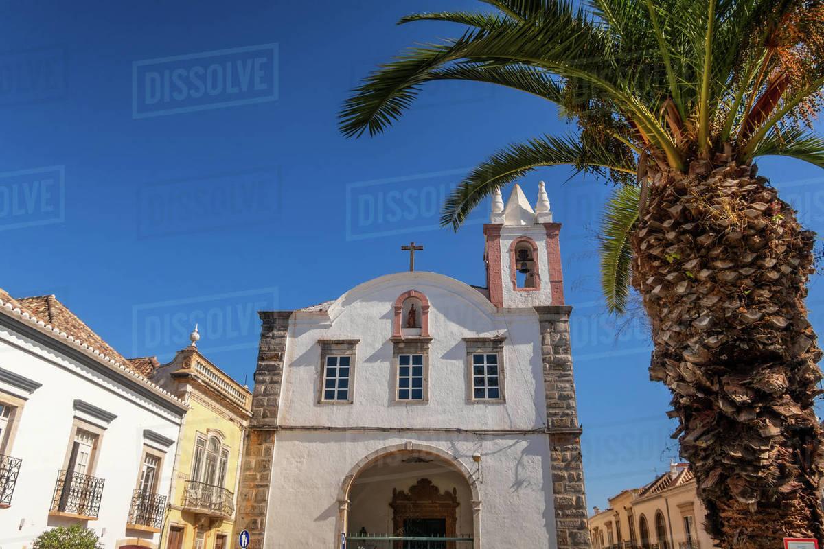 Church of Nossa Senhora da Ajuda Tavira, Portugal Royalty-free stock photo