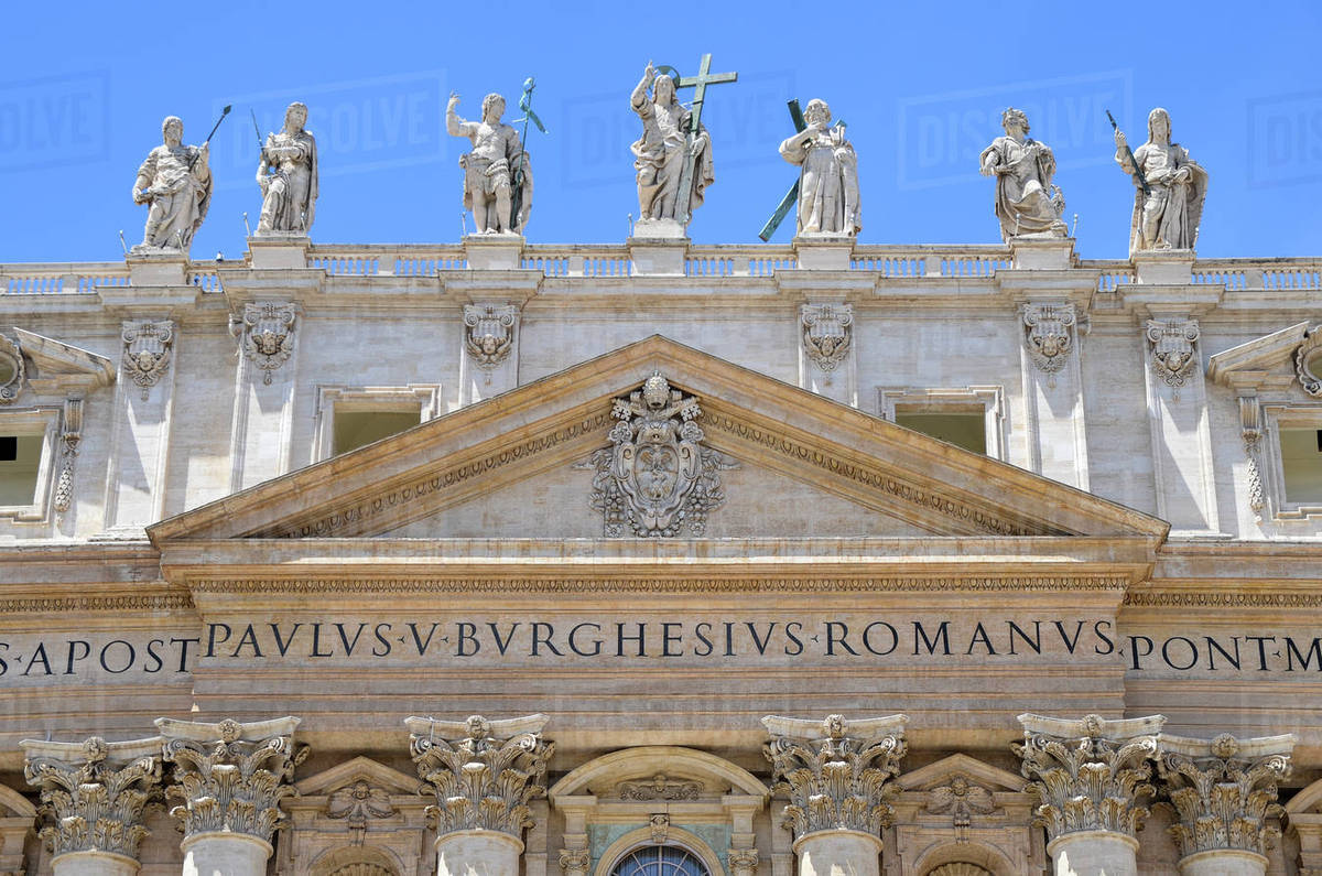 Italian Renaissance Architecture: St Peter's Basilica In Rome, Italian Renaissance