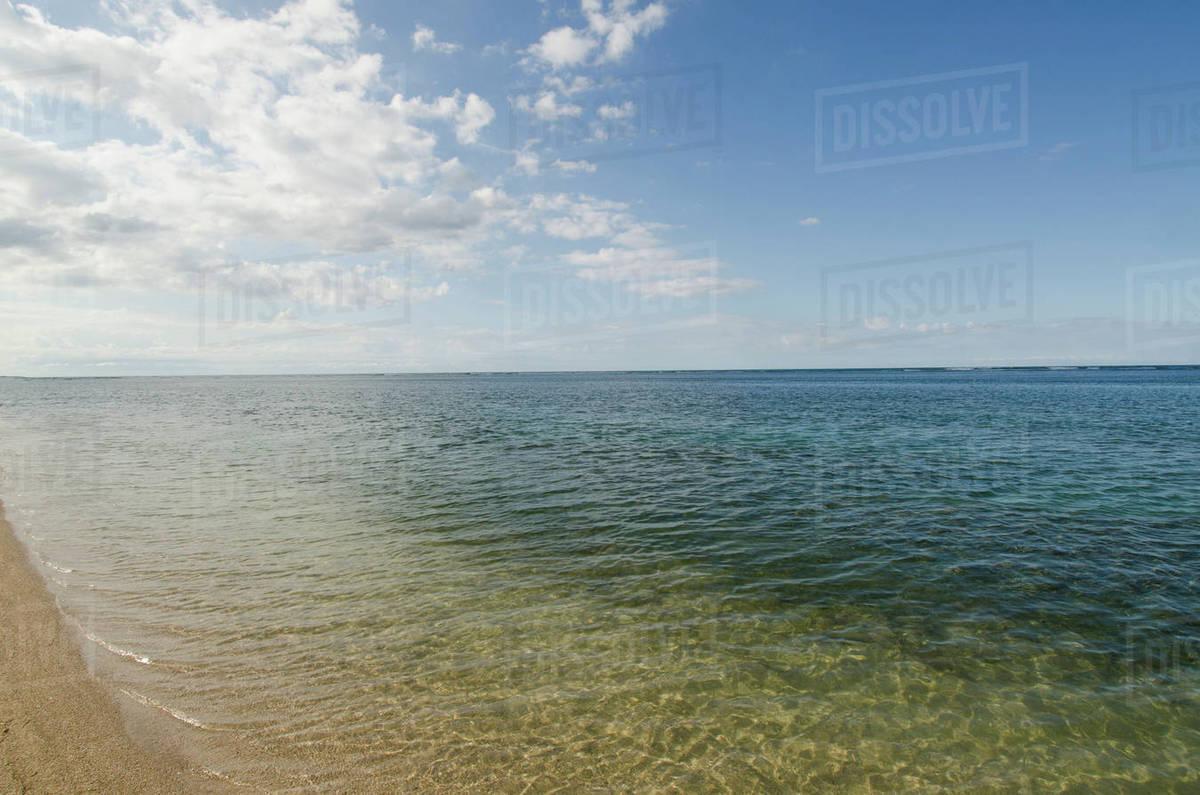 Puerto Rico Rio Grande Coco Beach At Atlantic Ocean