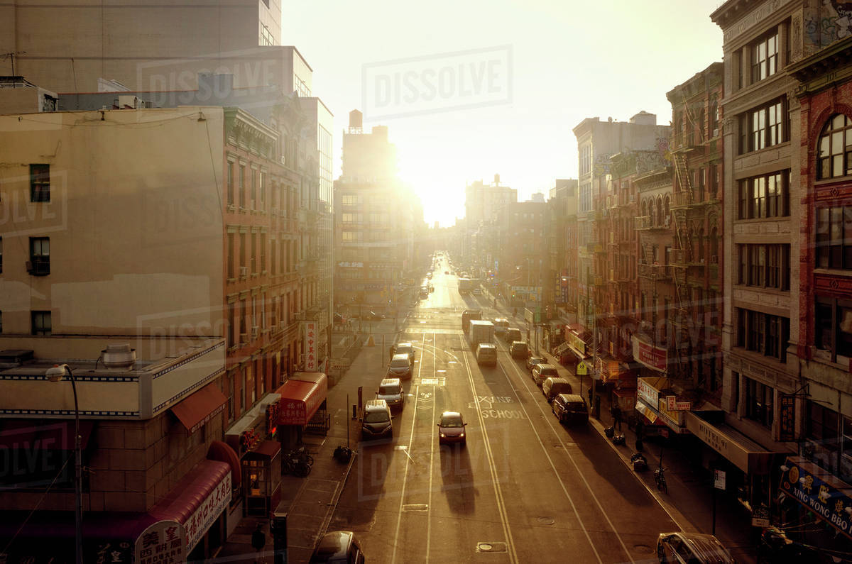 City Street Sunrise Wallpapers Just Do It