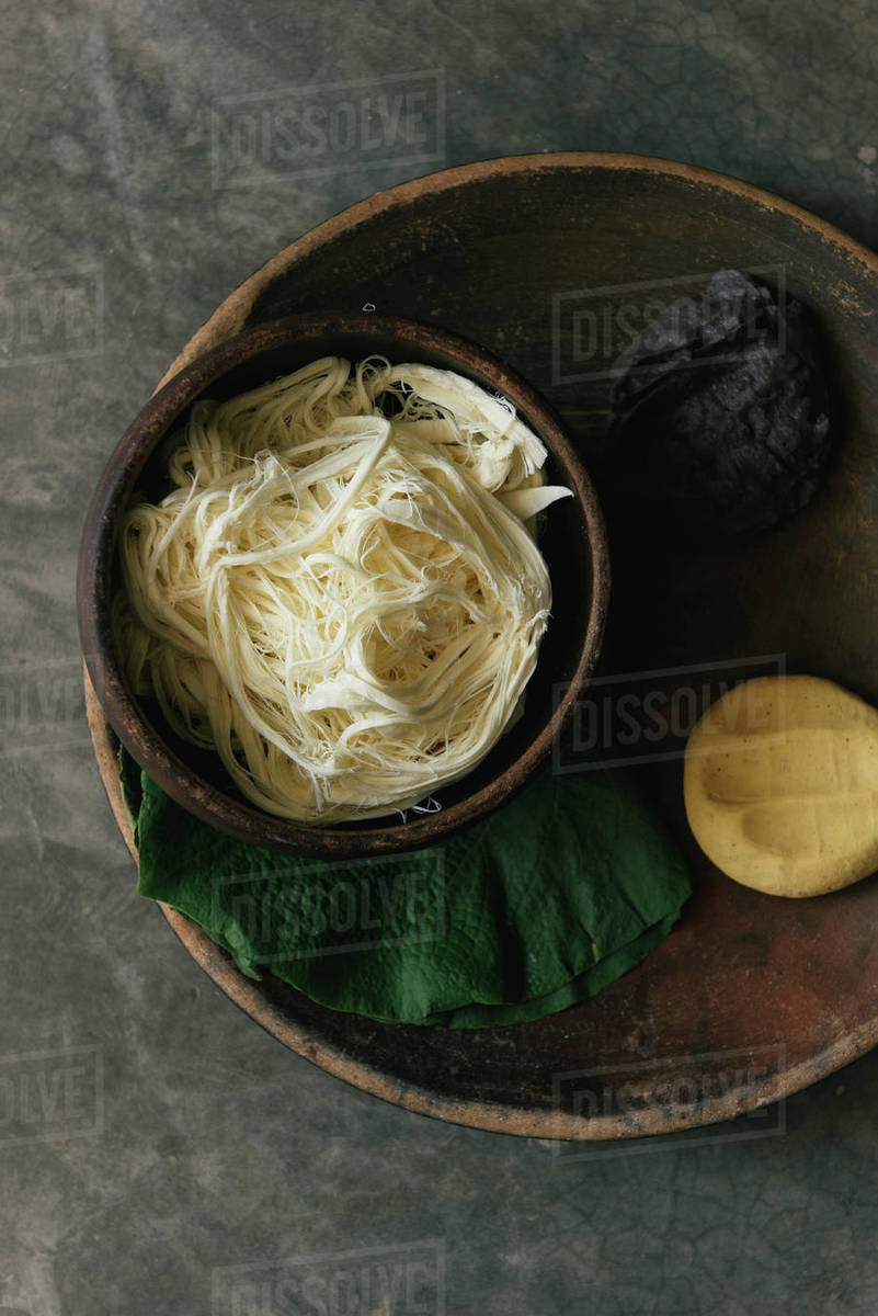 Stockpile of fresh tortilla ingredients waiting to be cooked Royalty-free stock photo