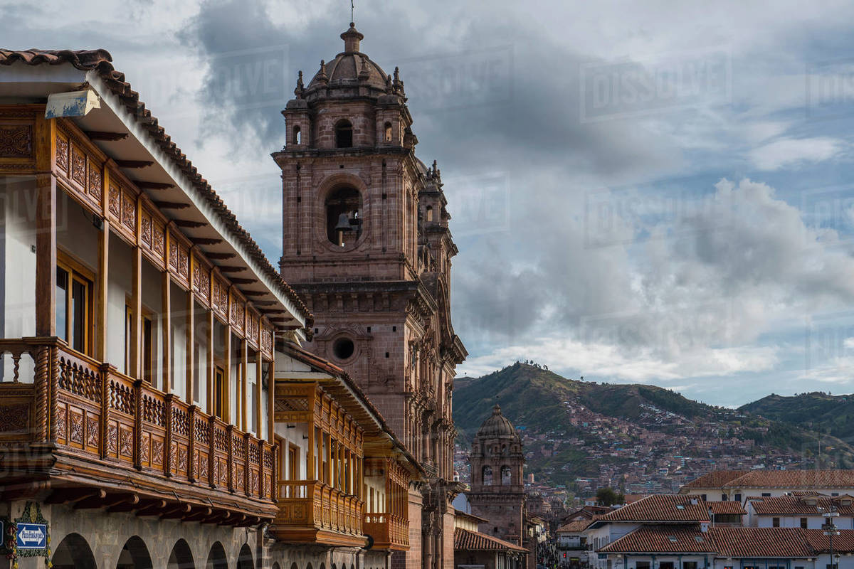 Plaza De Armas, Cusco, Peru, South America Royalty-free stock photo
