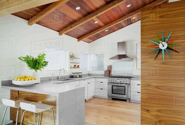 Interior of kitchen Royalty-free stock photo