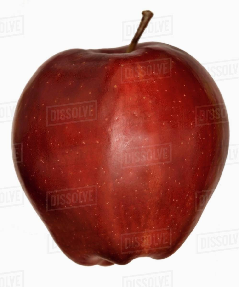 A Red Delicious Apple Stock Photo Dissolve