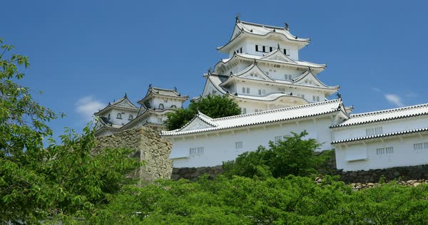 Himeji castle hyogo prefecture japan stock video footage dissolve himeji castle hyogo prefecture japan royalty free stock video publicscrutiny Choice Image