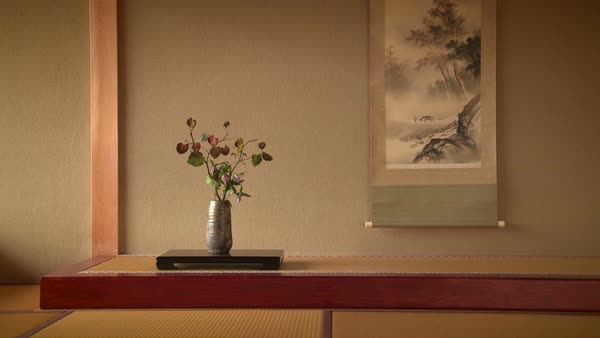 Traditional Japanese decor Royalty-free stock video