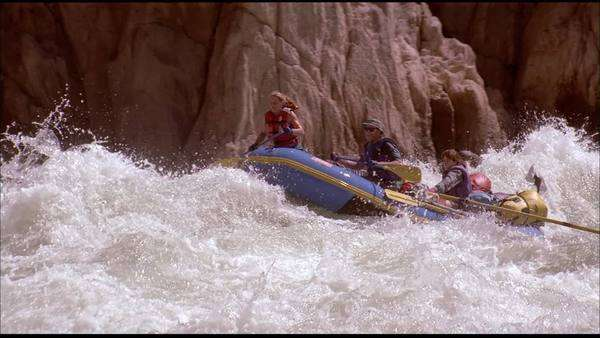 White water kayaking Rights-managed stock video