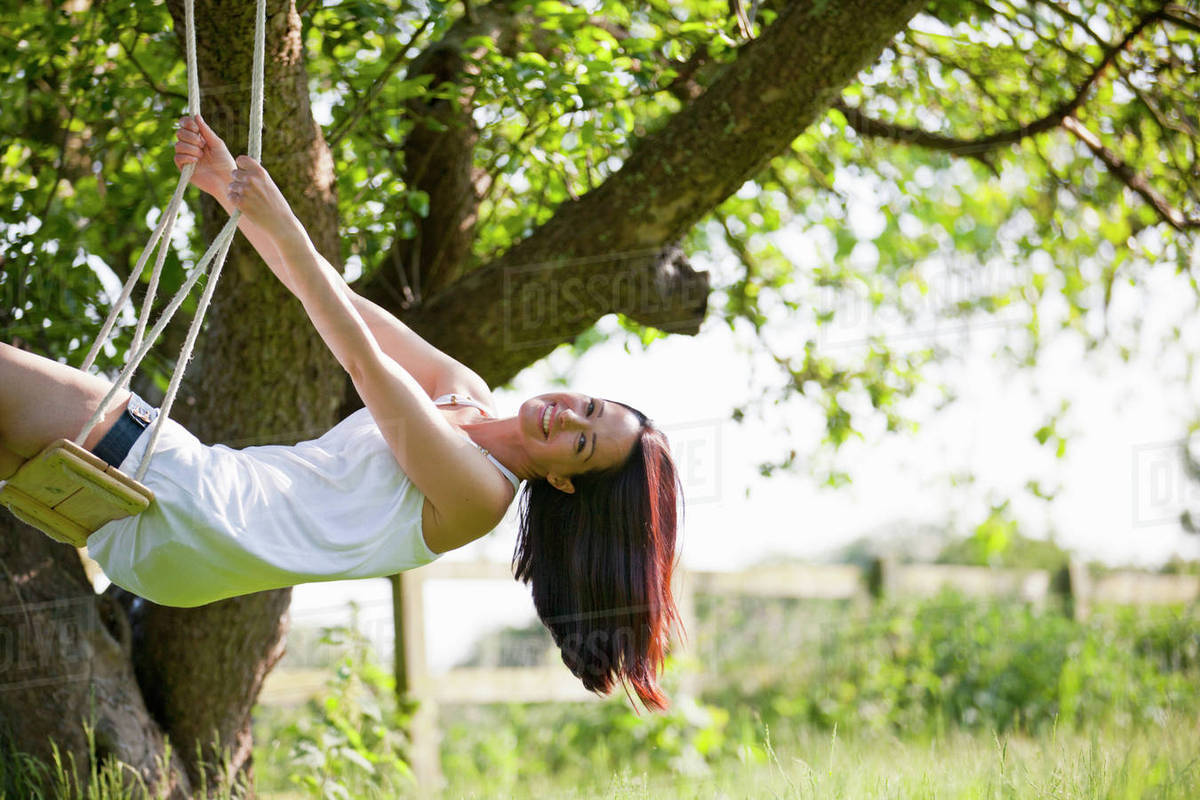 Swing swinging tree confirm. And have