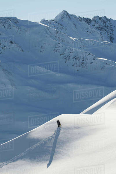 Professional snowboarder, Gigi R Rights-managed stock photo