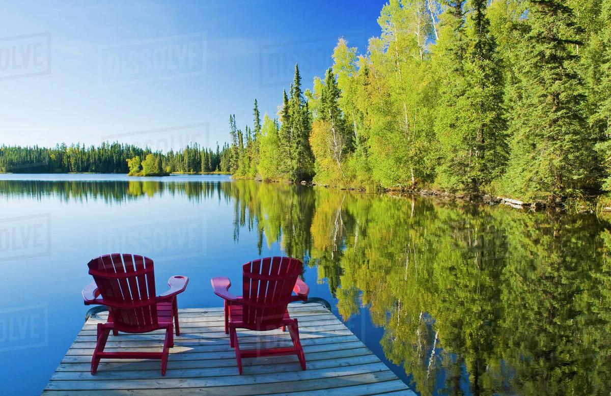 Adirondack Chairs Mackay Lake Northern Saskatchewan