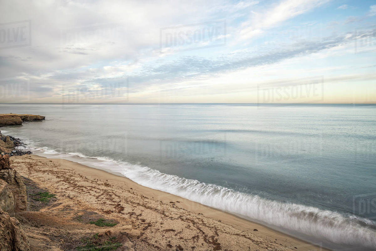 View from Sunset Cliffs Natural Park. Royalty-free stock photo