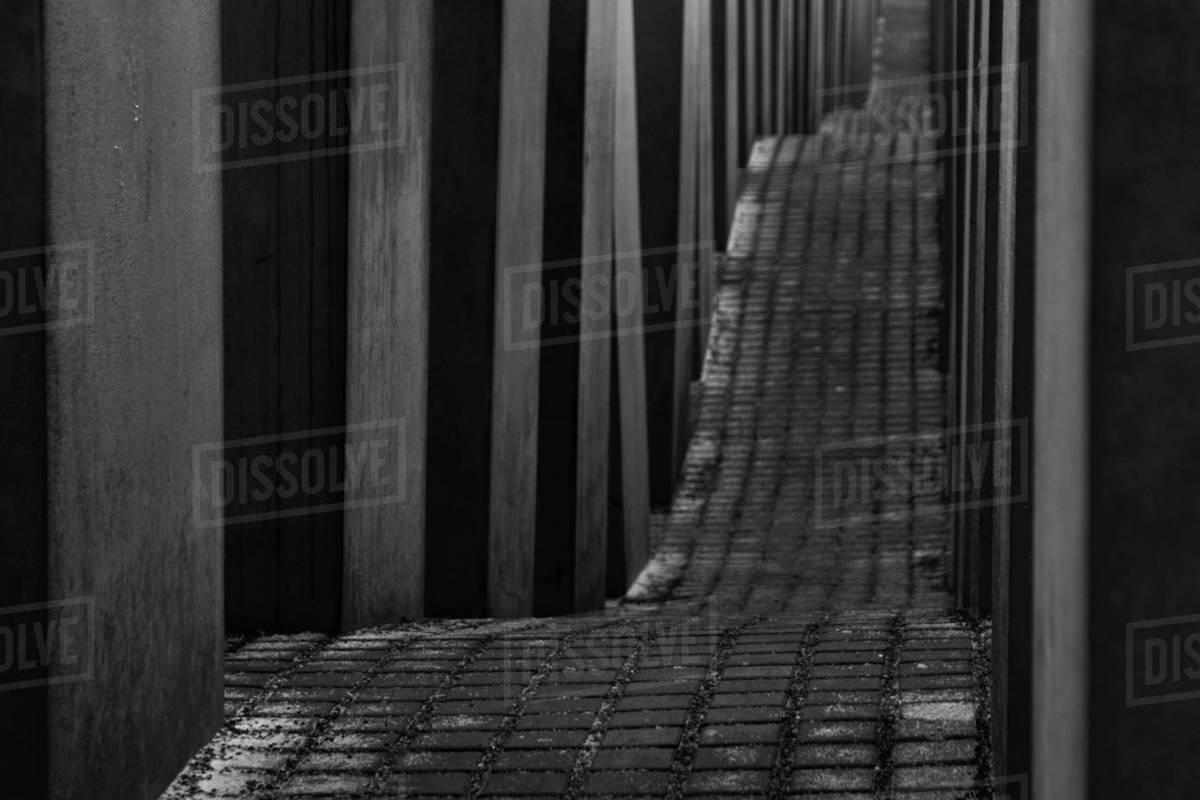Holocaust Memorial Berlin Royalty-free stock photo