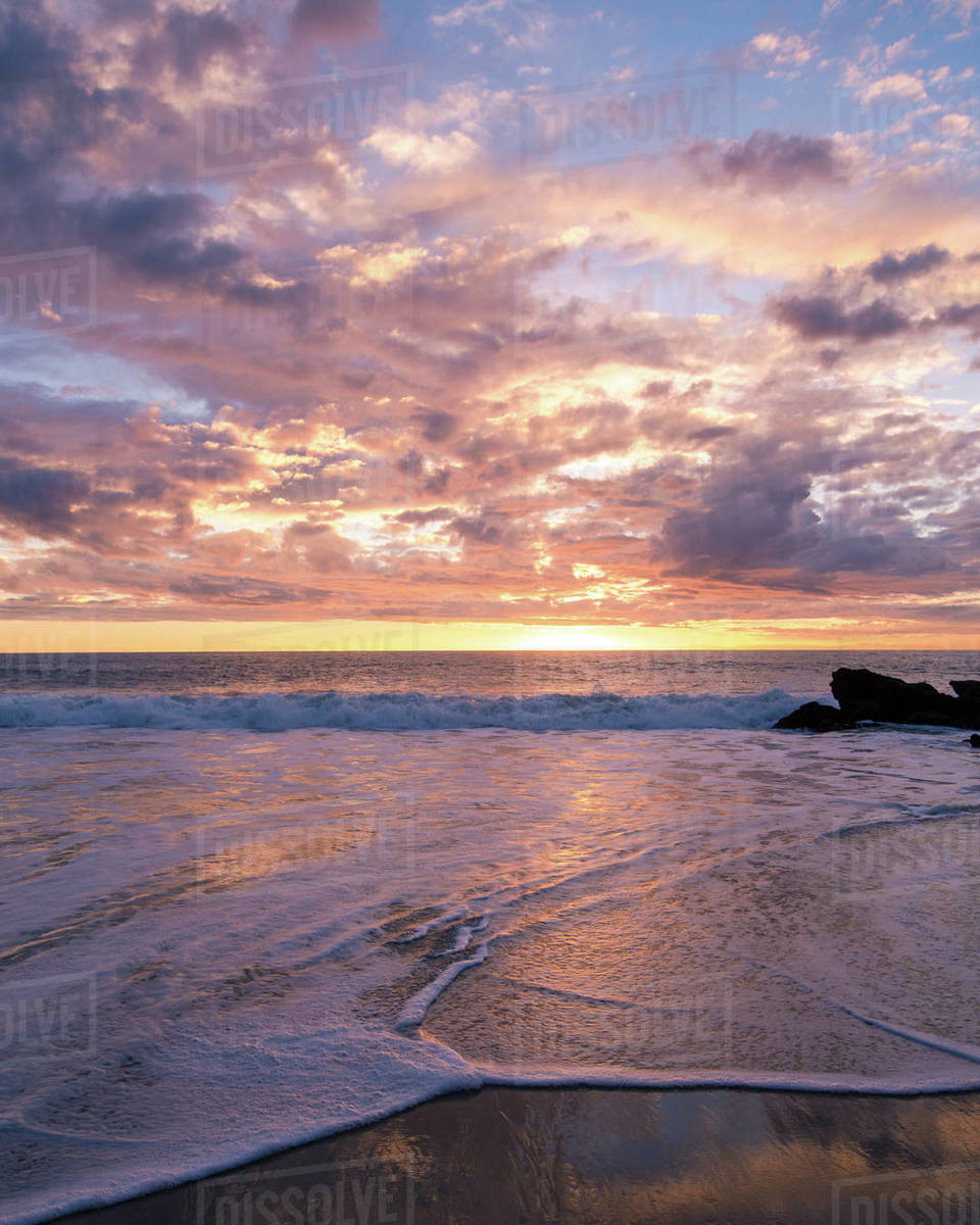 Laguna Beach Sunset Royalty-free stock photo