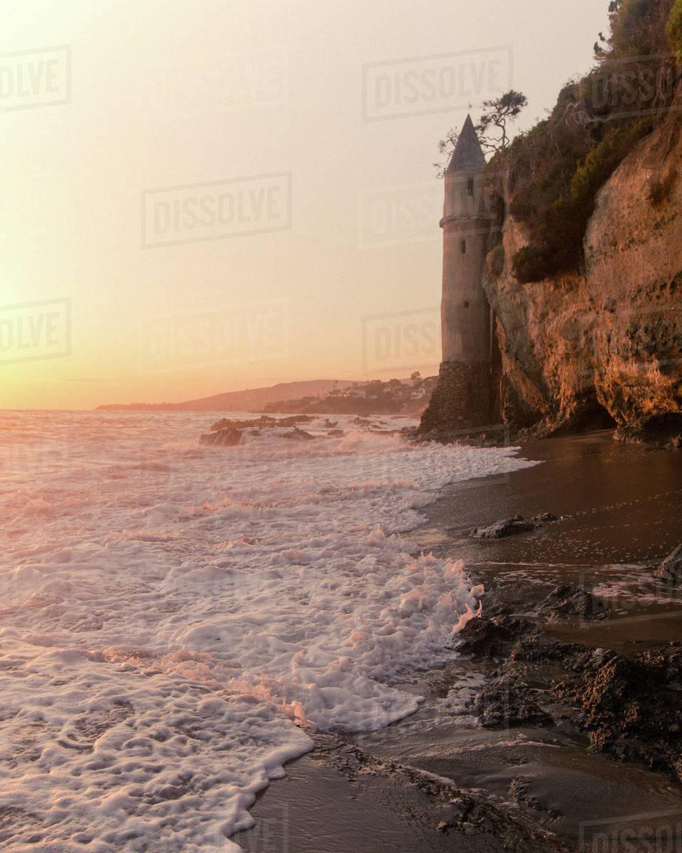 Laguna Beach Castle Royalty-free stock photo