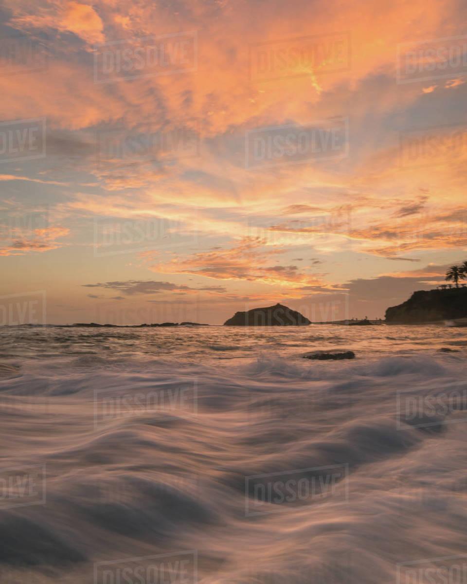 Laguna Wave Flow Royalty-free stock photo