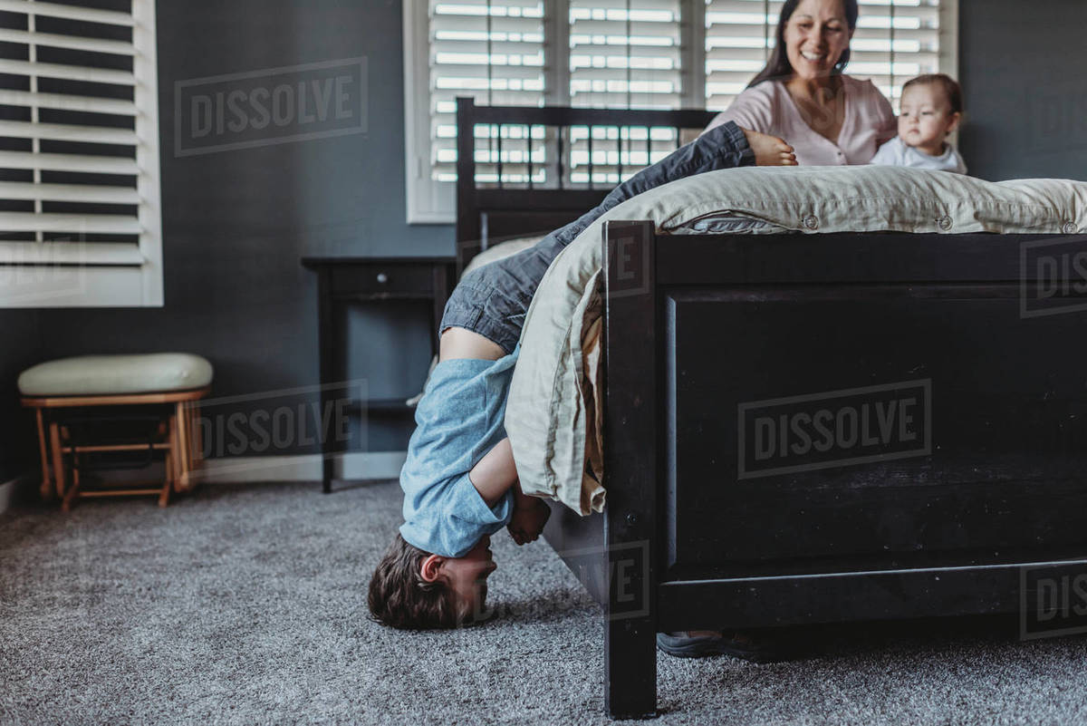 Headstand Bed
