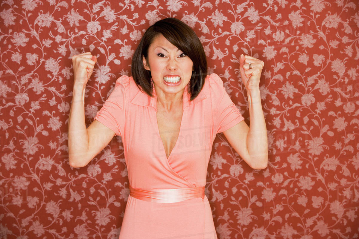 Image result for angry asain lady