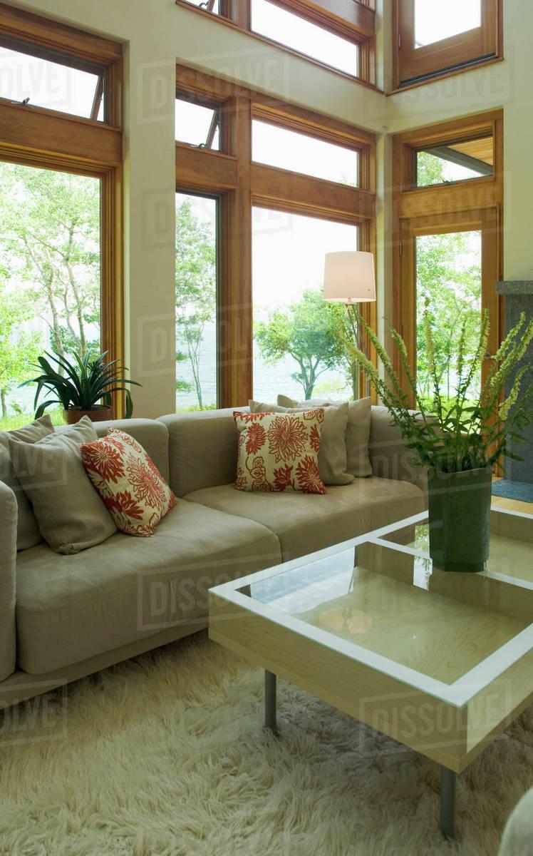 Contemporary Living Room With Shag Rug D145 200 518