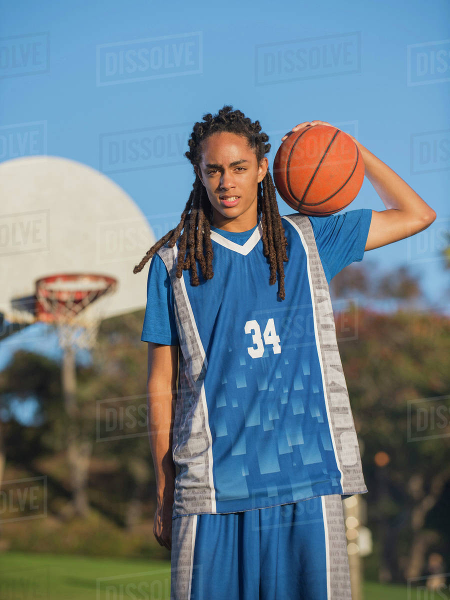 With you Black teen basketball players