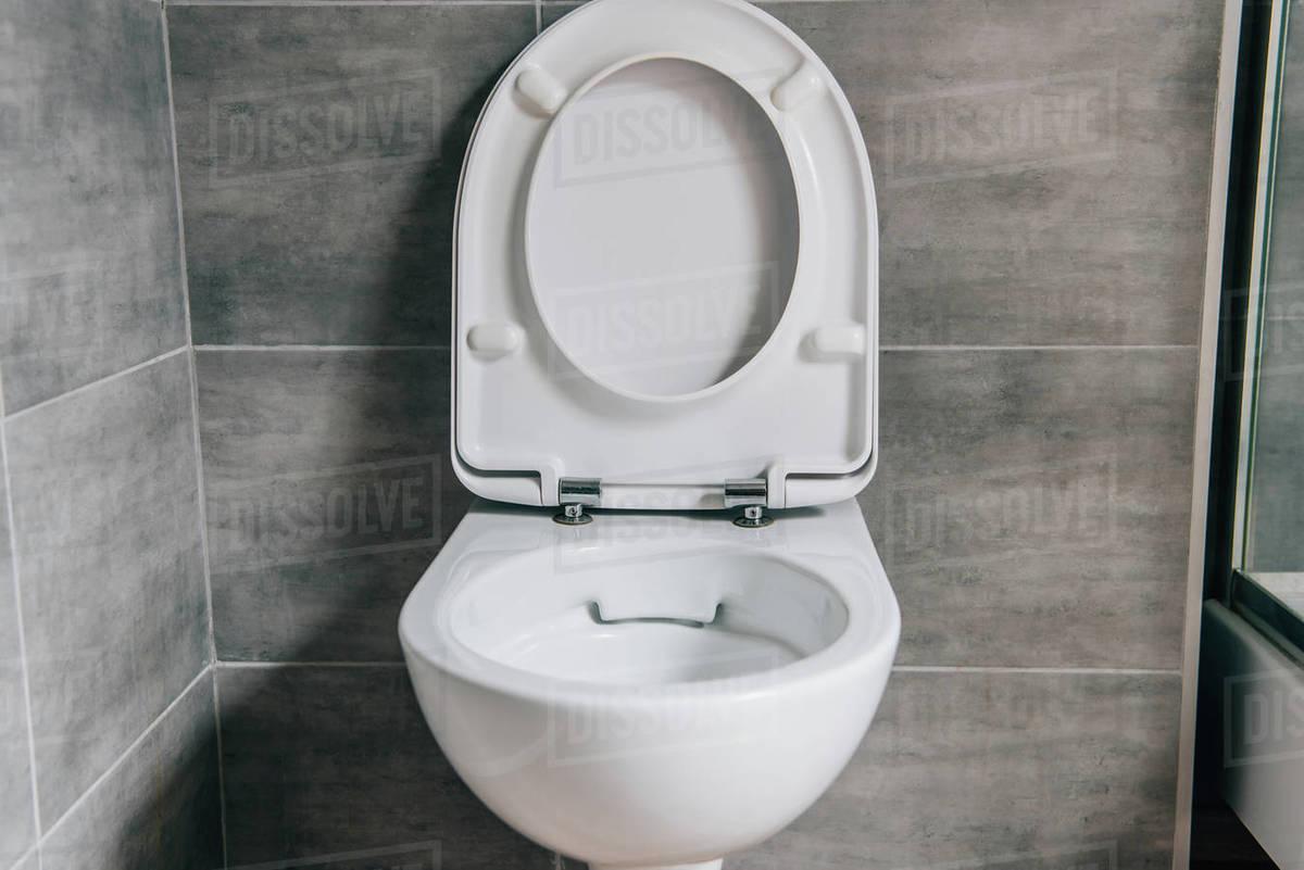 modern bathroom toilet