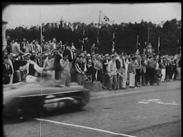 Start of car race Royalty-free stock video