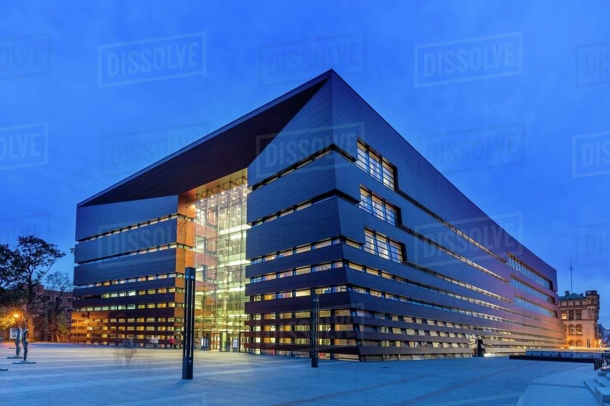 The National Forum of Music, Wroclaw, Poland, Europe stock photo