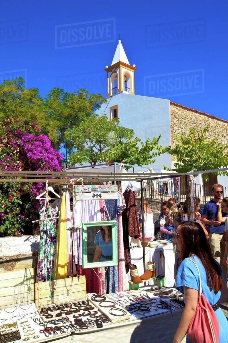 San Juan Market, Sant Joan de Labritja, Ibiza, Balearic Islands, Spain, Mediterranean, Europe Royalty-free stock photo