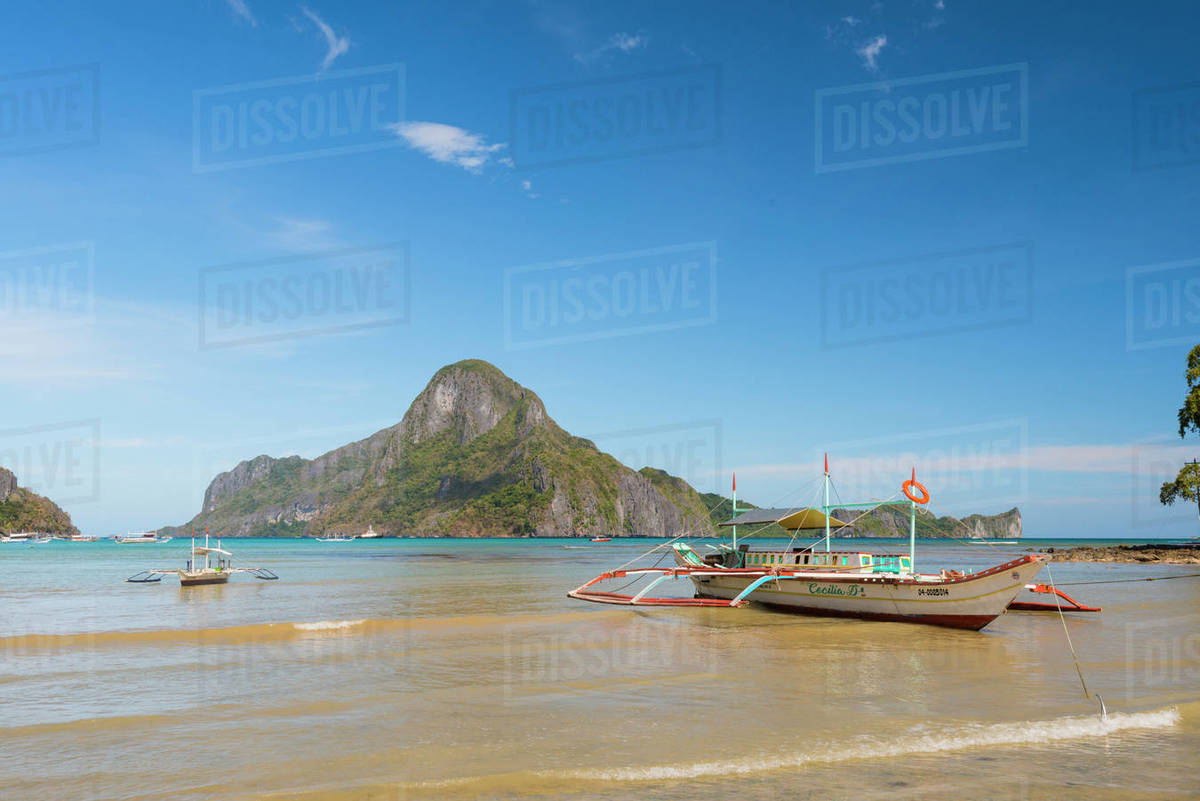 Bacuit Bay, El Nido, Palawan, Mimaropa, Philippines, Southeast Asia, Asia Royalty-free stock photo