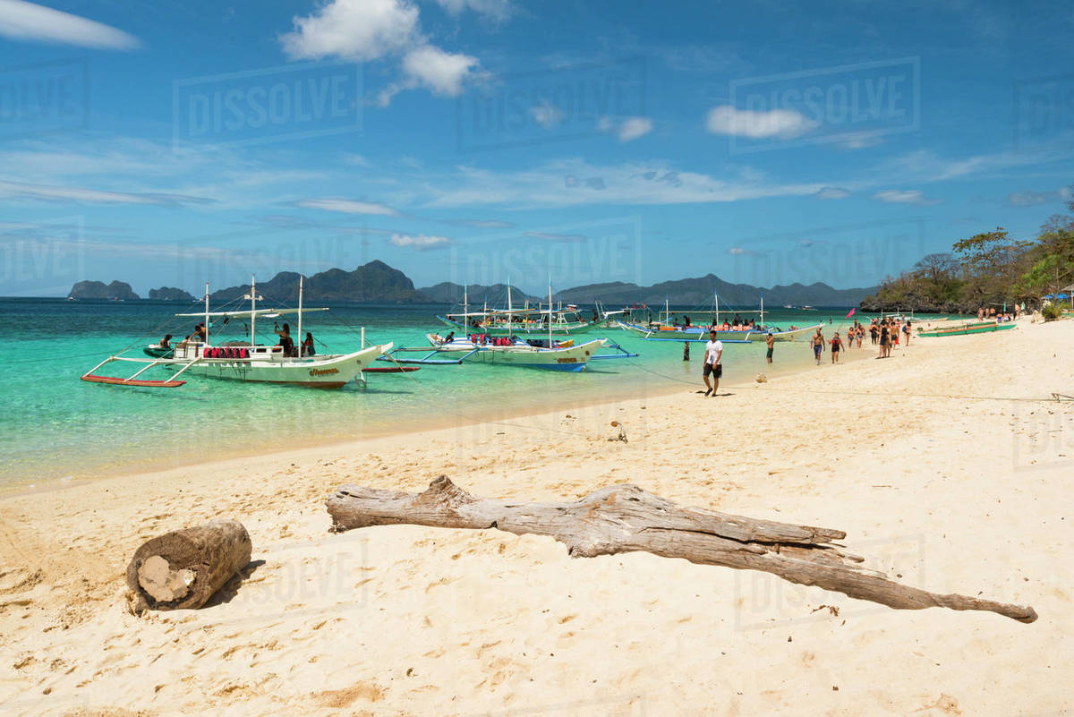 Bacuit Bay, El Nido, Palawan, Mimaropa, Philippines, Southeast Asia, Asia Royalty-free stock photo