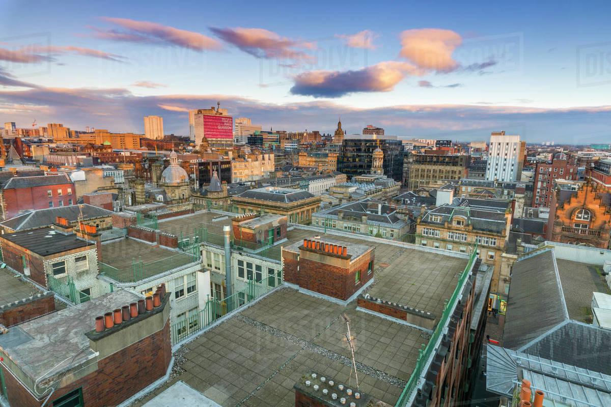 Glasgow, Scotland, United Kingdom, Europe Royalty-free stock photo