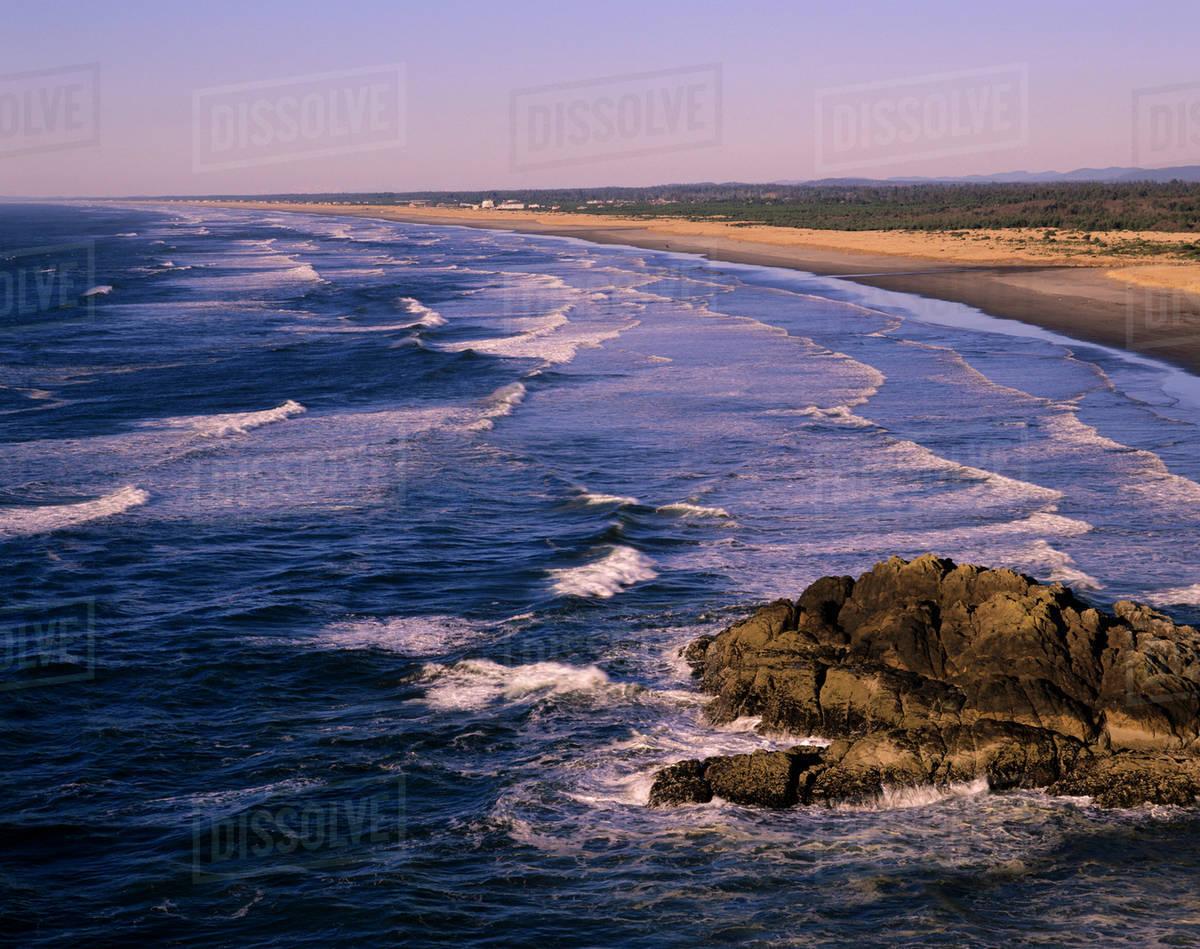 Wa Long Beach Peninsula Along The Pacific Ocean