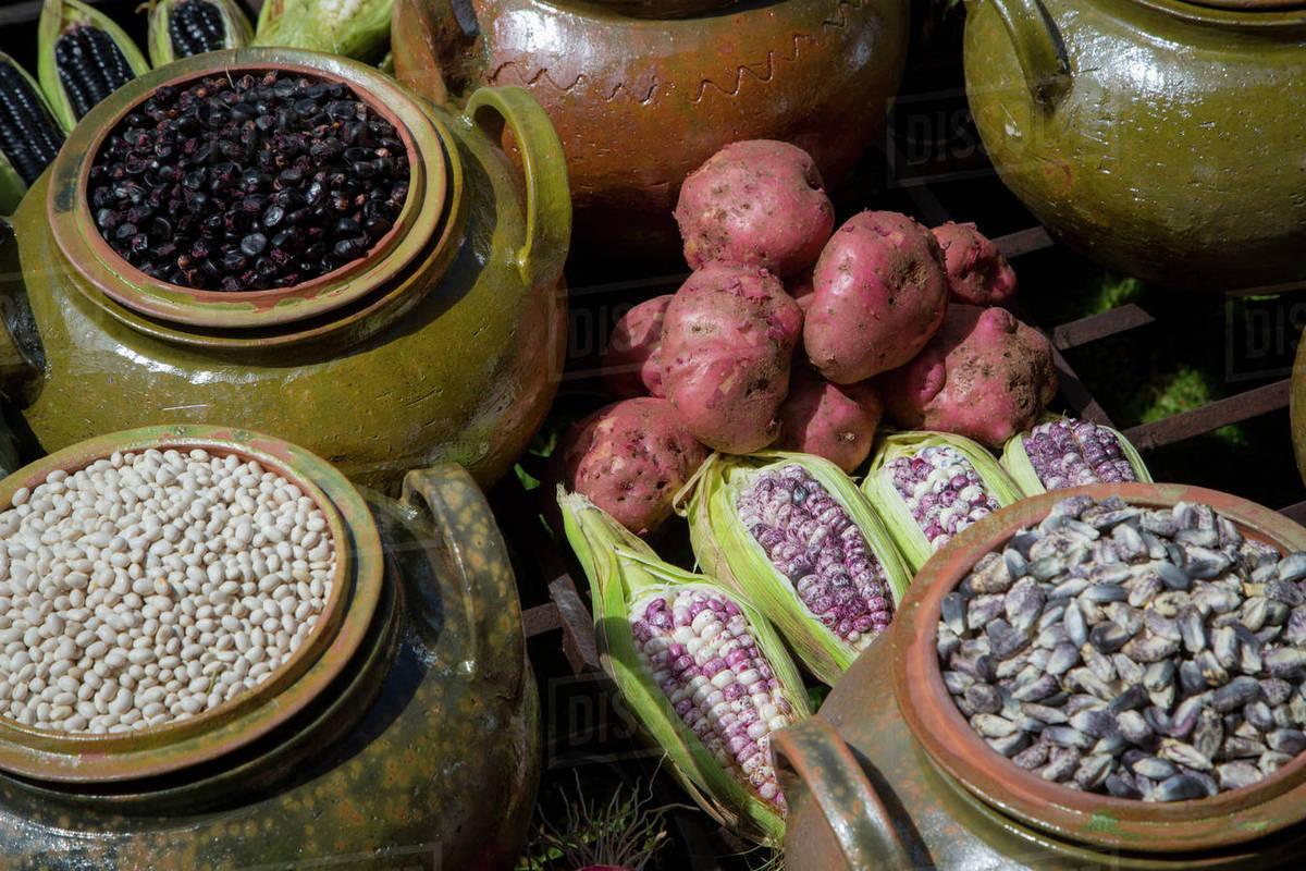 Peruvian Food Sacred Valley Cusco Region Urubamba Province