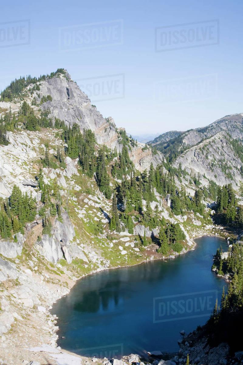 wa alpine lakes wilderness granite mountain potholes with trico
