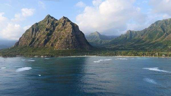 Kaaawa, Windward Coast, Oahu, Hawaii Rights-managed stock video