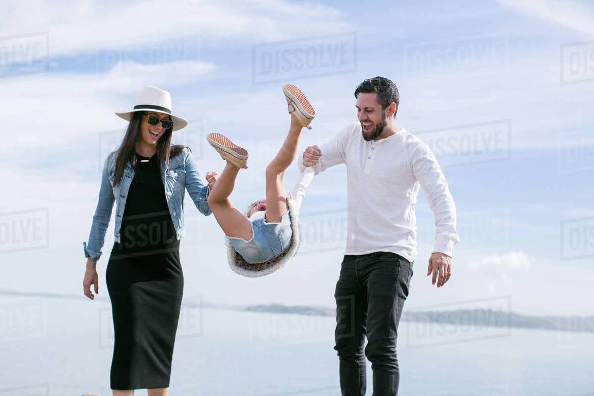 Mature swinging couple