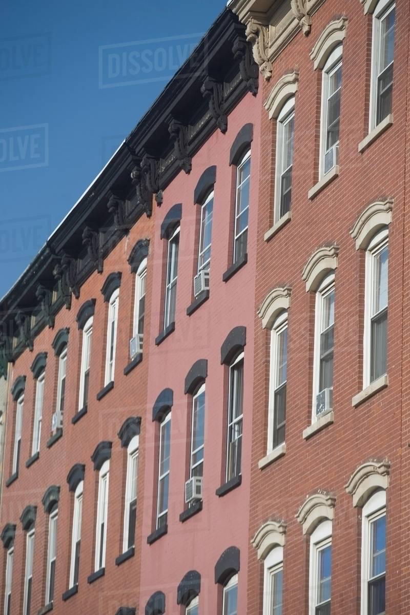 Apartment Buildings, New York City, USA