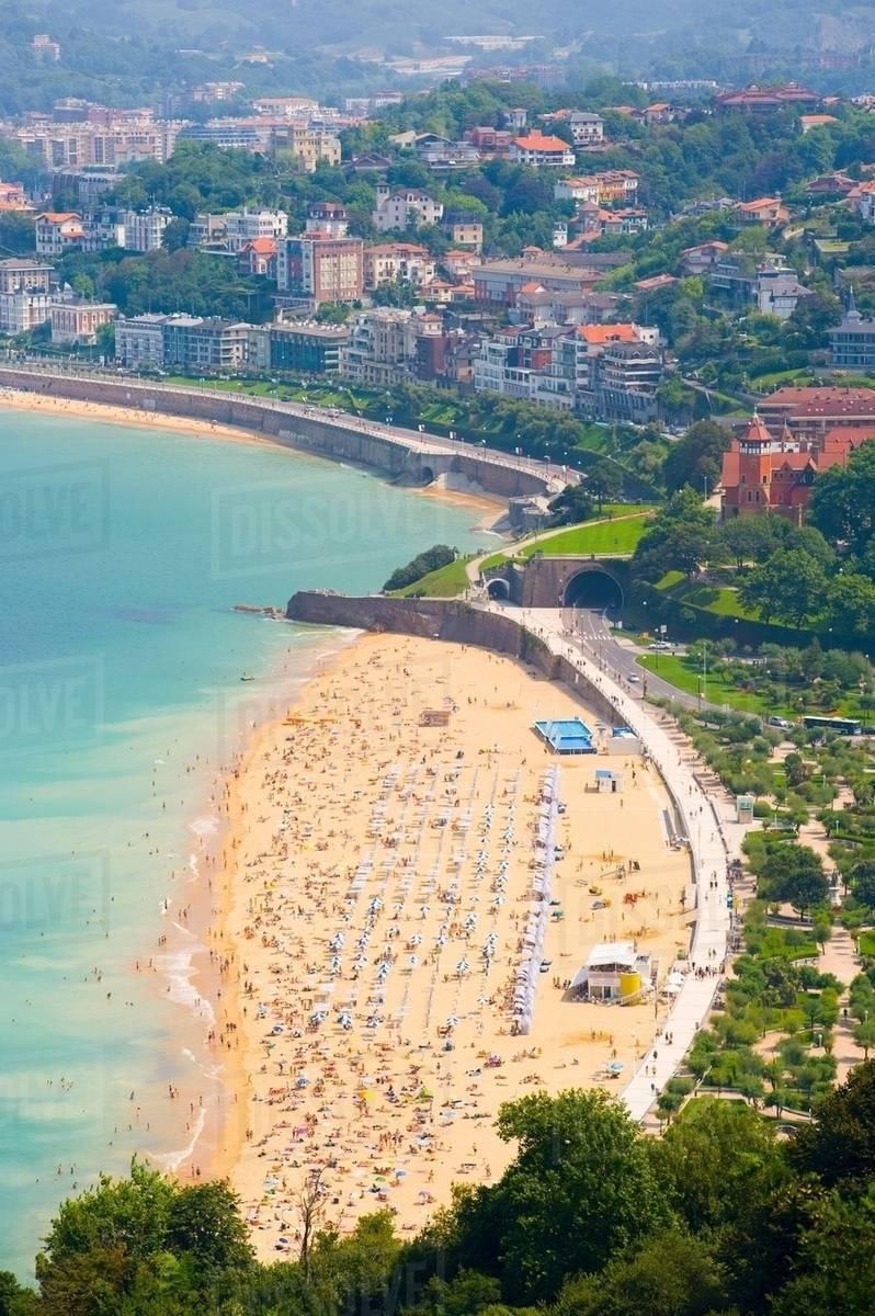Ondarreta Beach San Sebastian Basque Country Spain