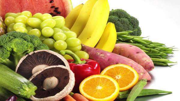 Still life with fruit and vegetables Royalty-free stock video