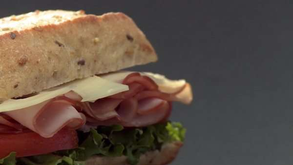A sandwich Royalty-free stock video